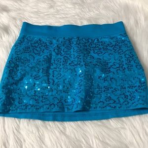Justice Girls skort size 10 blue